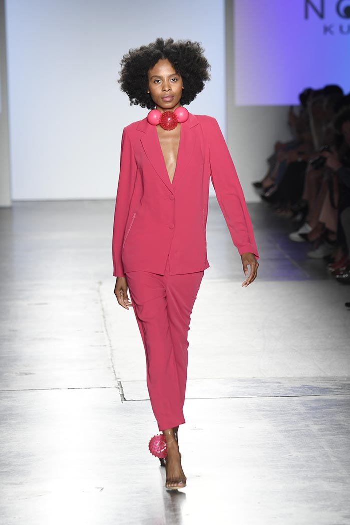 Global Fashion Collective 1 Presents Nozomi Kuwahara At New York Fashion Week SS19