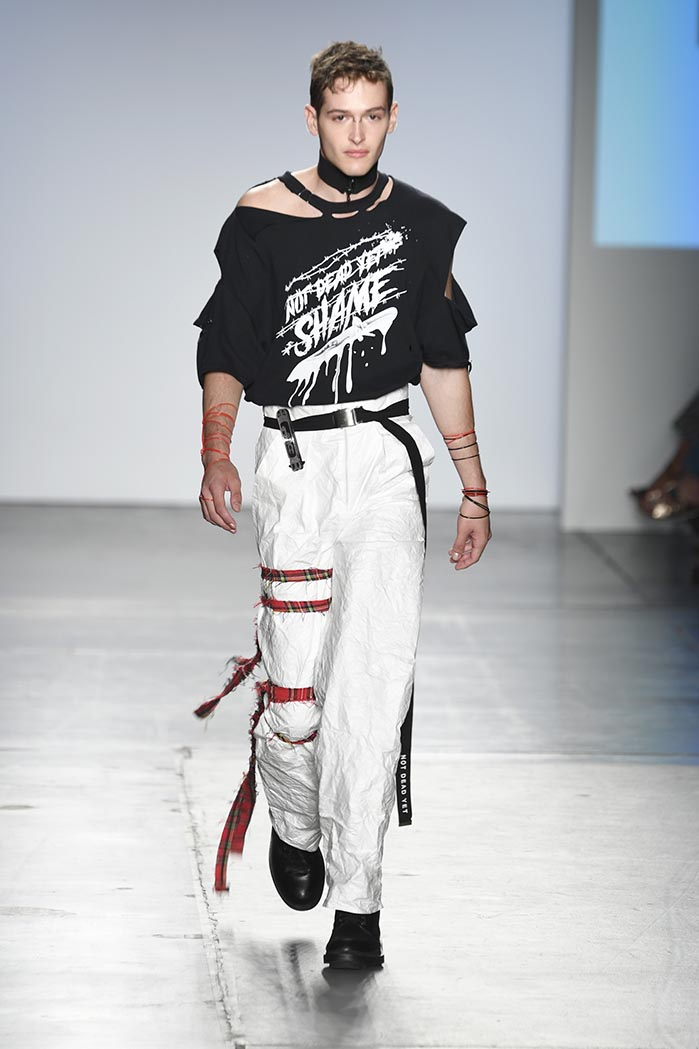 Global Fashion Collective 1 Presents NOT DEAD YET At New York Fashion Week SS19