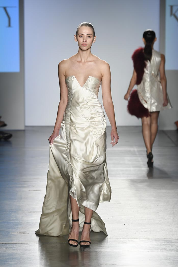 Global Fashion Collective II Presents Kirsten Ley At New York Fashion Week SS19