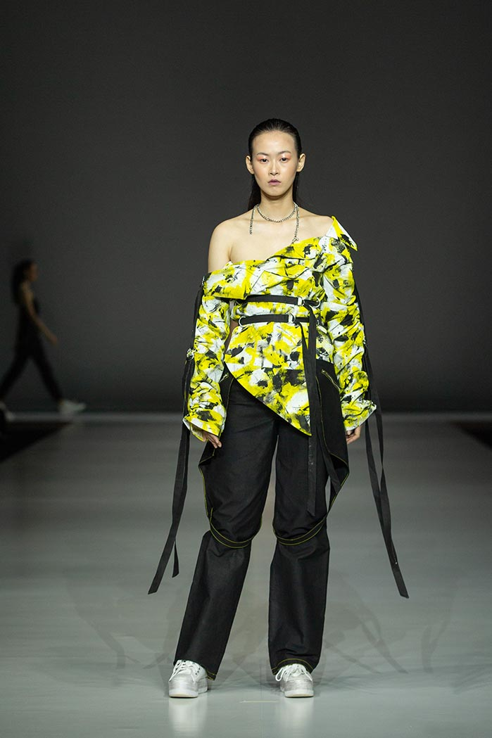 Redress Design Award 2018_Tess Whitfort_Australia_Outfit 1