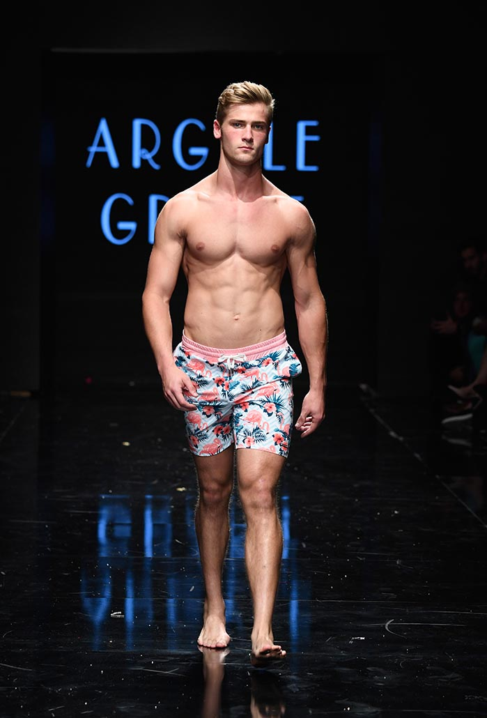 Argyle Grant at Los Angeles Fashion Week Powered by Art Hearts Fashion LAFW SS/19