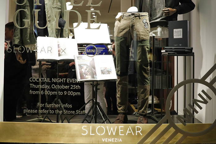 "Slowear x MINI Celebrate : ""The Modern Gentleman's Style Guide"""