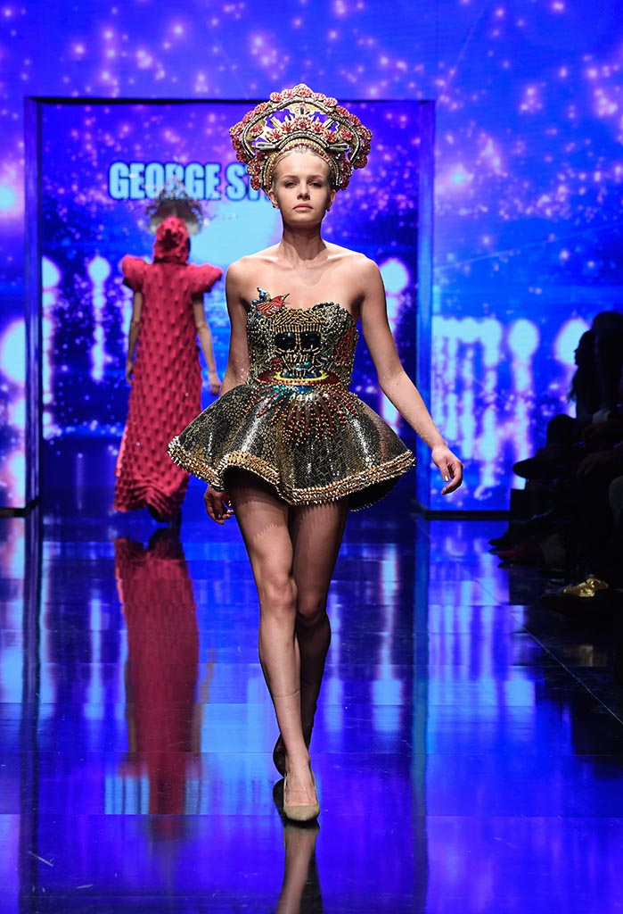 George Styler at Los Angeles Fashion Week Powered by Art Hearts Fashion LAFW SS/19