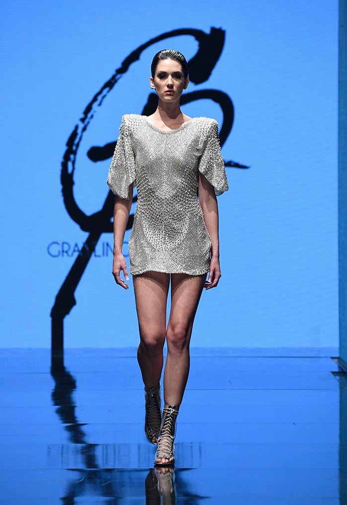 Grayling Purnell at Los Angeles Fashion Week Powered by Art Hearts Fashion LAFW SS/19