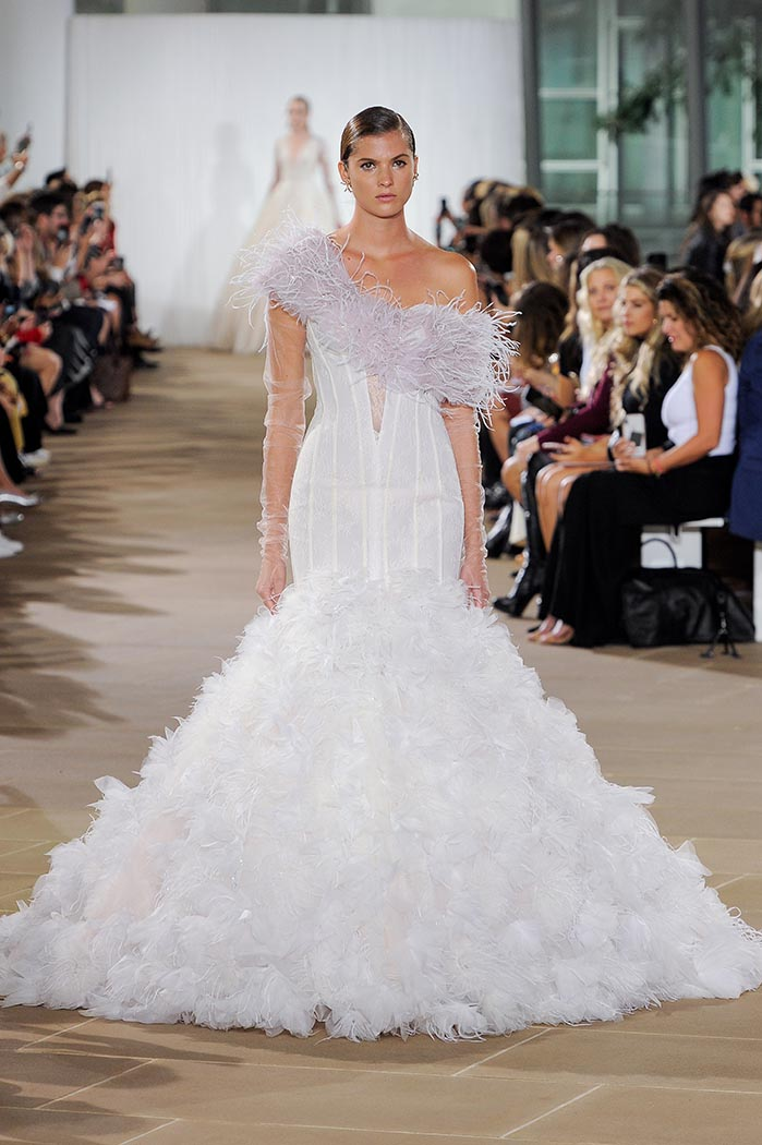 Ines di Santo, Bridal Fall 2019, New York, October 5 2018