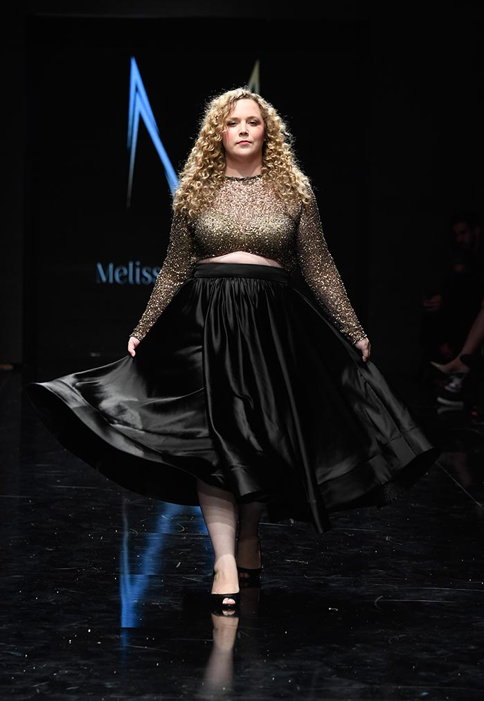 Melissa Mercedes at Los Angeles Fashion Week Powered by Art Hearts Fashion LAFW SS/19