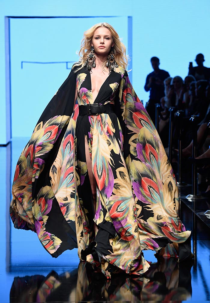 Michael Costello at Los Angeles Fashion Week Powered by Art Hearts Fashion LAFW SS/19