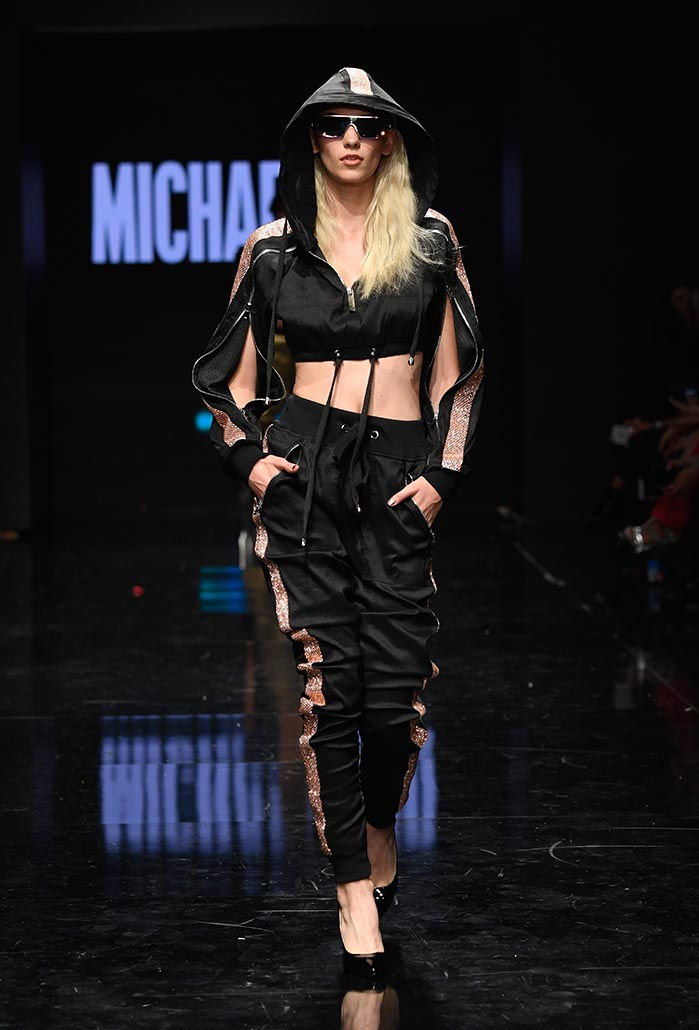 Michael Ngo at Los Angeles Fashion Week Powered by Art Hearts Fashion LAFW SS/19