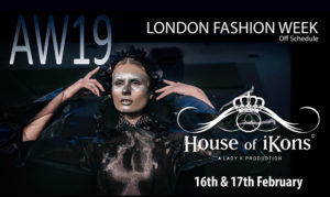 House of iKons DURING London Fashion Week
