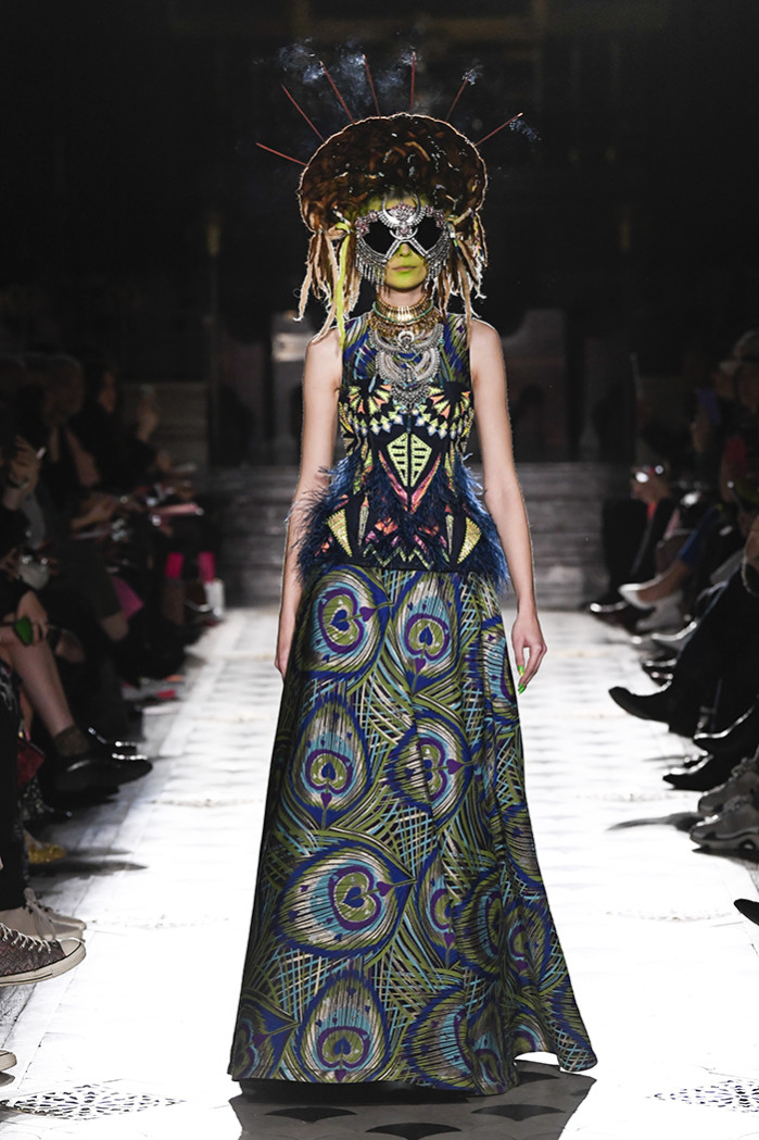 Ready to wear, winter 2019 2020, fashion week, womenswear, Paris, Manish Arora