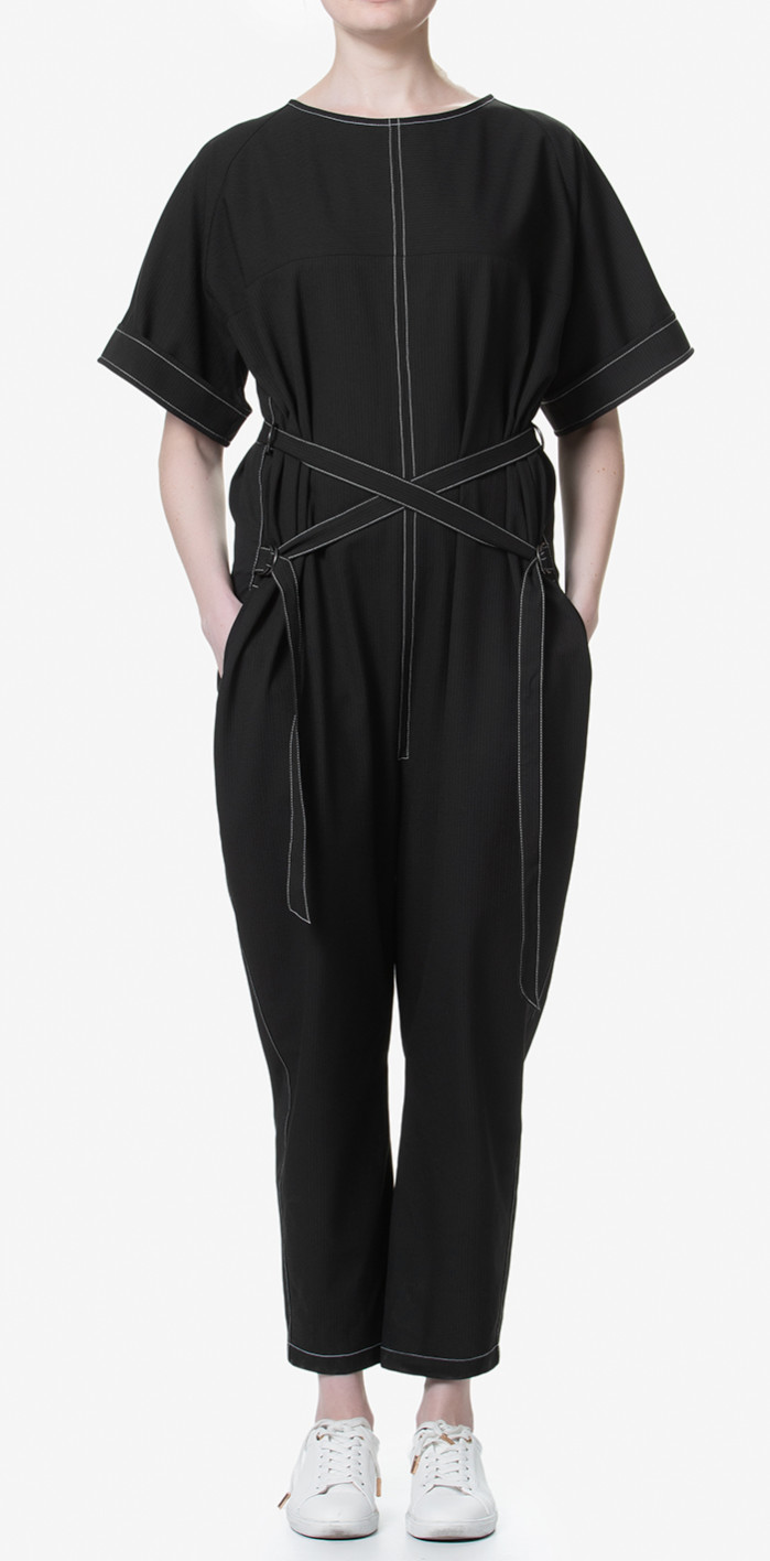 Avalon Jumpsuit Black