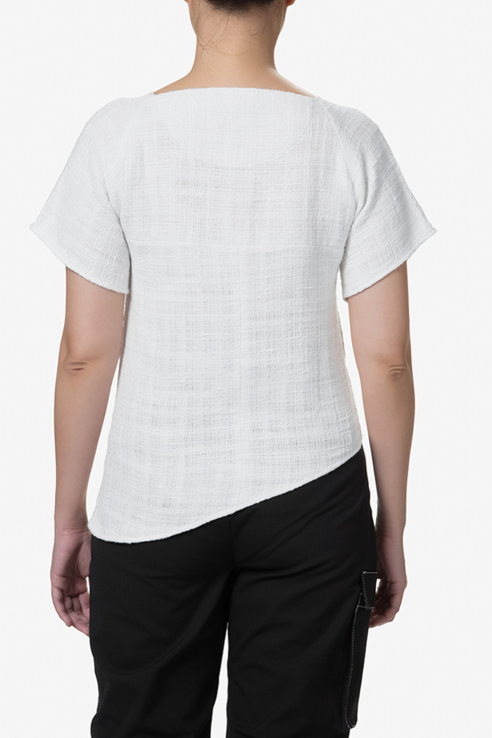 Benalla Tee White (back)