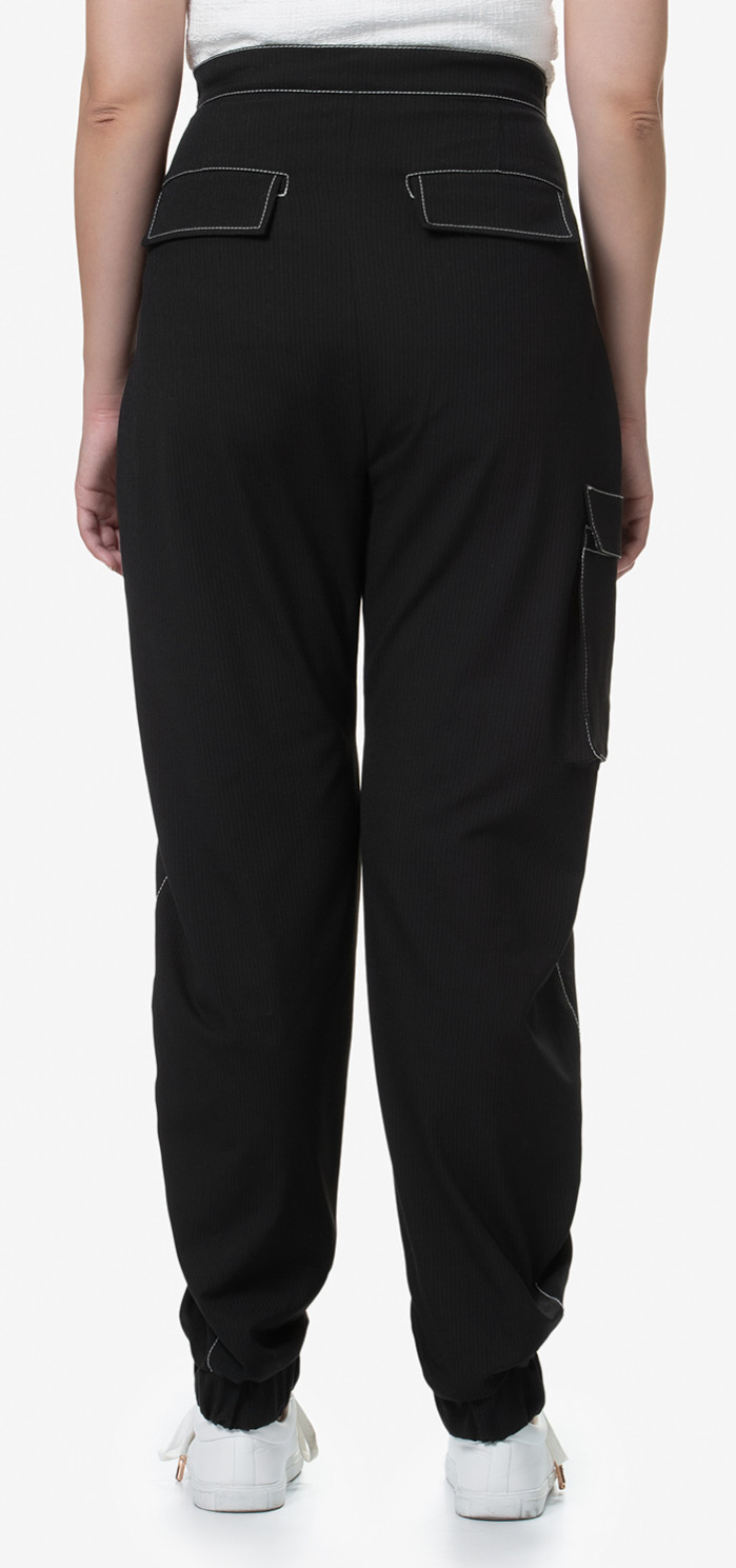 Ryde Pants Black (back)