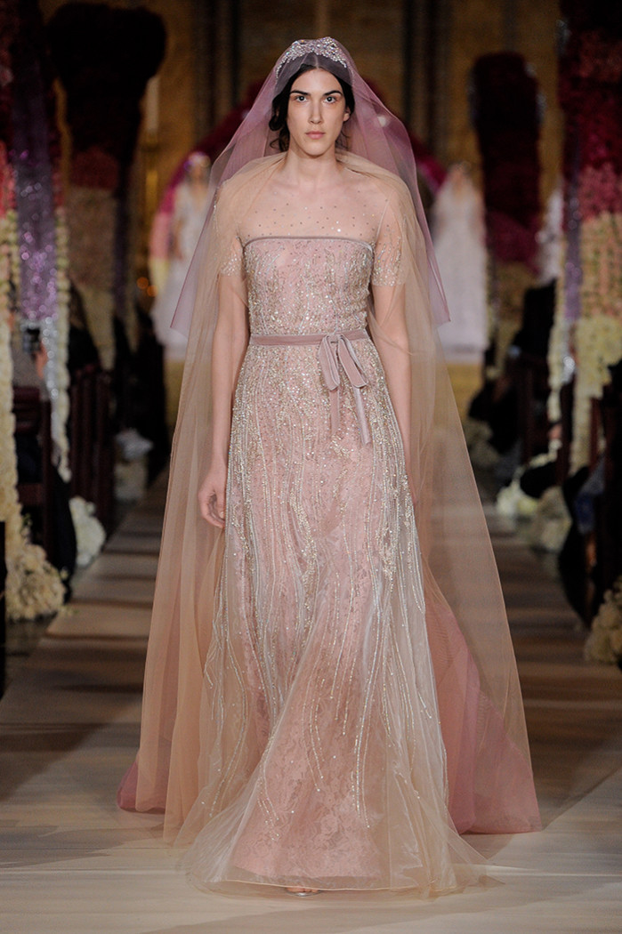 Reem Acra, Bridal Spring 2020, New York, April 2019