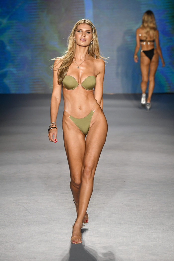 Monica Hansen Beachwear Runway Show 2020 Collection - Paraiso Miami Beach