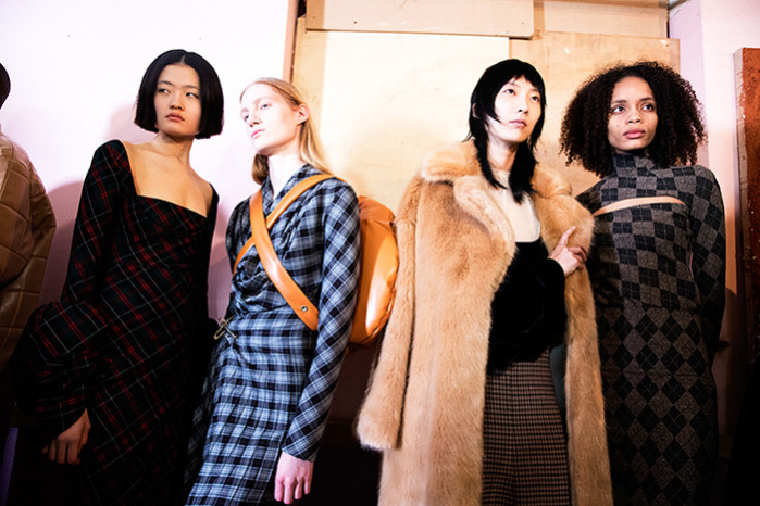 A.W.A.K.E. MODE, Backstage, LFW AW19 (British Fashion Council, Carly Scott) Lo Res-19