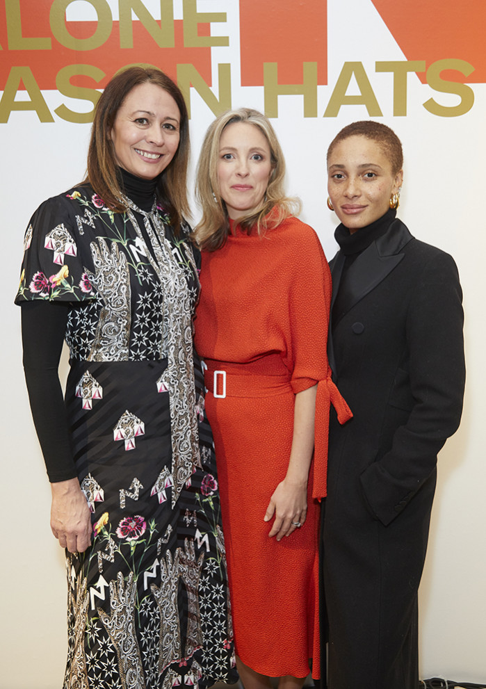 Caroline Rush, Stephanie Phair launch London Fashion Week February 2019