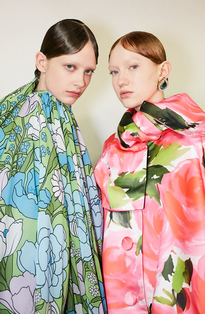Richard Quinn, Backstage, LFW AW19 (British Fashion Council, Jess Mahaffey) Hi Res-79