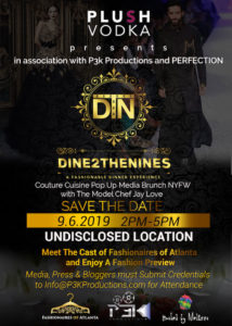 Dine 2 The Nines - Couture Cuisine Pop Up Media Brunch NYFW