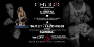 CHULO Underwear S/S 2020 NYFW Runway Show for Charity