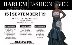 Harlem Fashion Week: Season 7