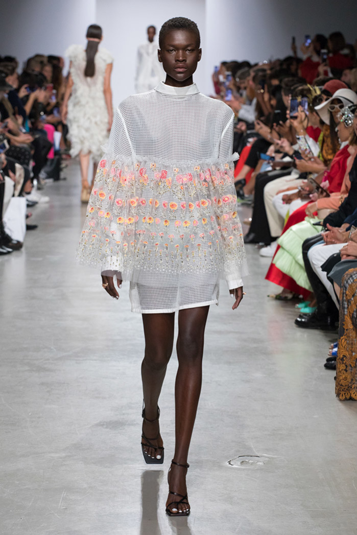 Runway look from the Rahul Mishra Fashion Show