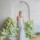 Alabaster fit and flare silk crepe square neck wedding gown by bridal designer Carol Hannah 2 (1) thumbnail