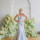 Atlas fit and flare silver textured wedding gown by bridal designer Carol Hannah1(1) thumbnail