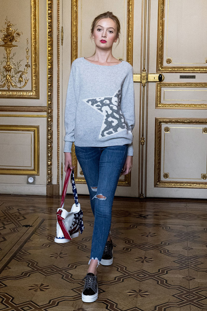Brodie Cashmere With Handbags by Amira Doucette