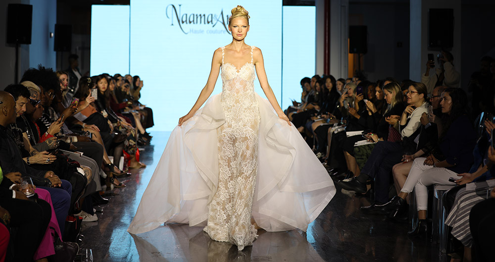 Bridal Fashion Week 2020.Naama Anat Introduces Infinity Fall Winter 2020 Collection