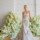 Patina fit and flare colored wedding gown by bridal designer Carol Hannah7 thumbnail