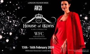 House of iKons February 2020 LONDON Fashion Week