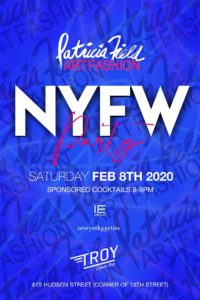 Patricia Field Art Fashion NYFW Kick Off Party