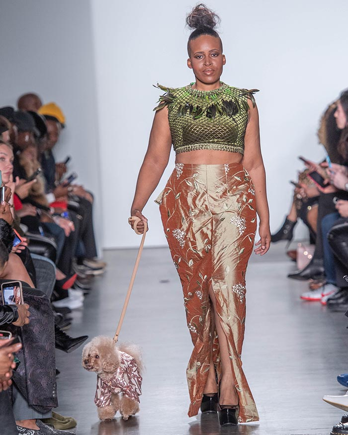 Anthony Rubio, NYFW, Canine Couture, Womens Wear, 2020 DSC_7222