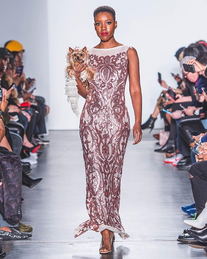 Anthony Rubio, NYFW, Canine Couture, Womens Wear, 2020 DSC_7285