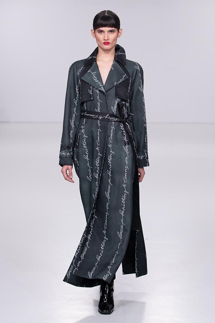 London Fashion Week Autumn Winter 2020 - Johan Ku