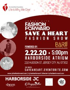 """Save a Heart"" Fashion Show 2020 (Jersey City)"
