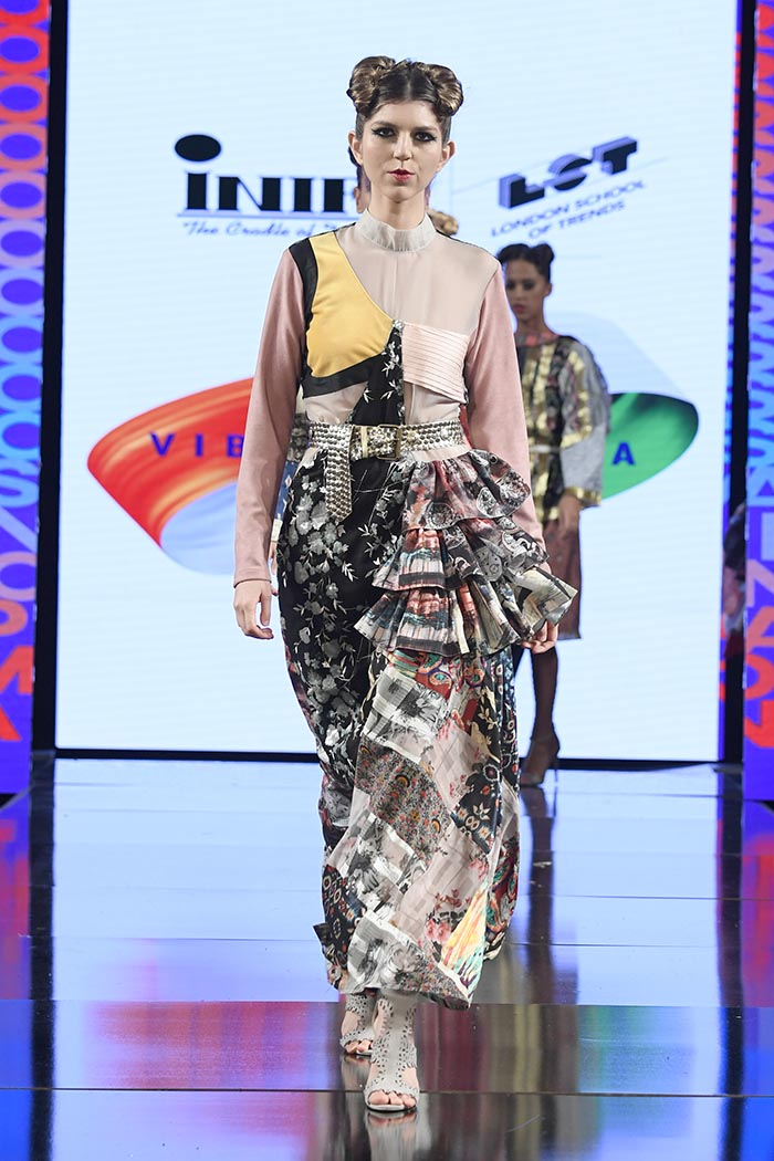 Vibrant India By Inifd & London School Of Trends At New York Fashion Week Powered By Art Hearts Fashion NYFW 2020