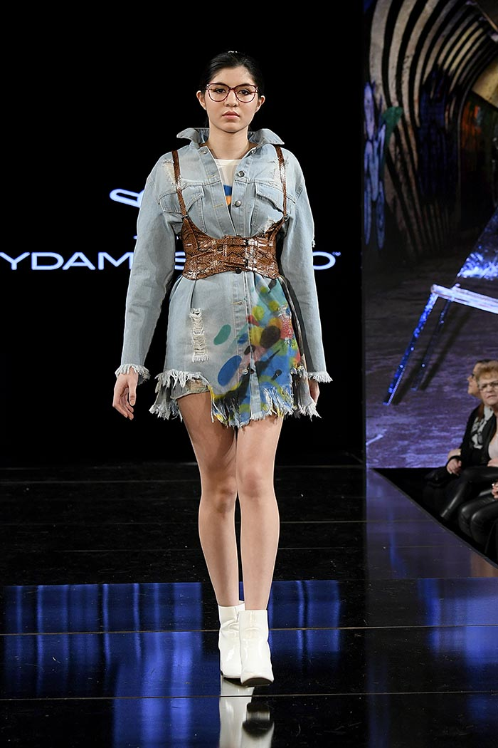 Ydamis Simo At New York Fashion Week Powered By Art Hearts Fashion NYFW 2020
