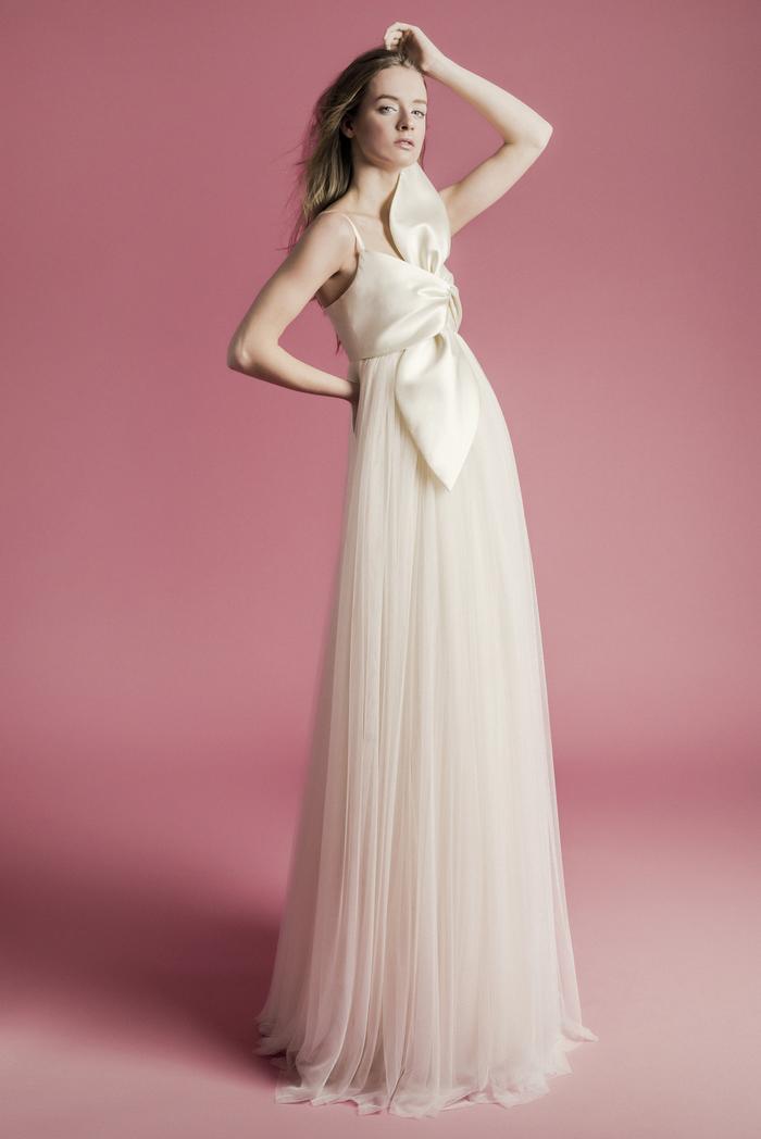 Elvira Mikado Dress front