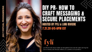 Fyli NYC - DIY PR - How to Craft Messaging & Secure Placements