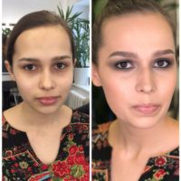 Make-up Artist for one of Europian fashion week